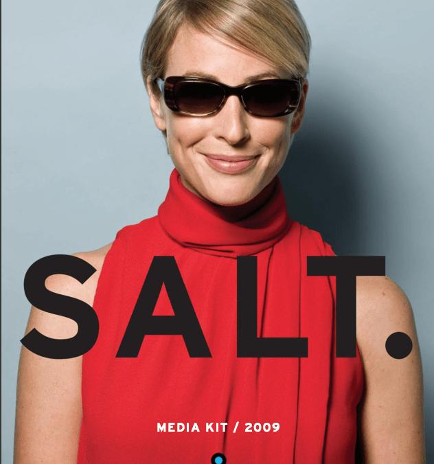 SALT 09 DIGITAL MEDIA KIT