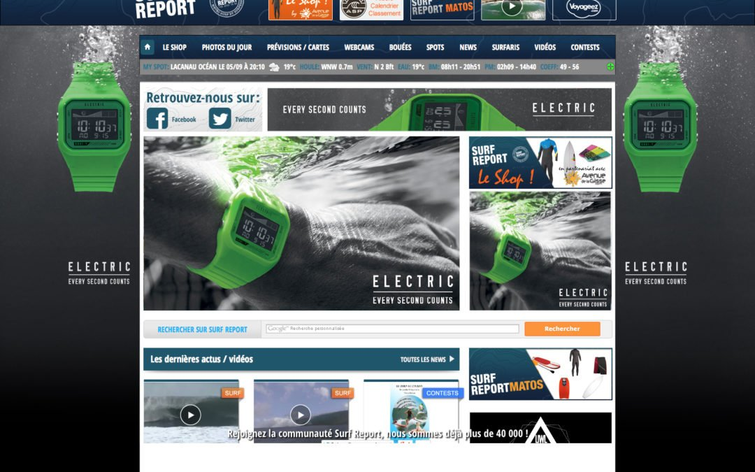 Electric Homepage Takeovers
