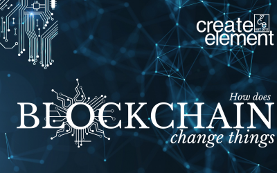How does blockchain change things?